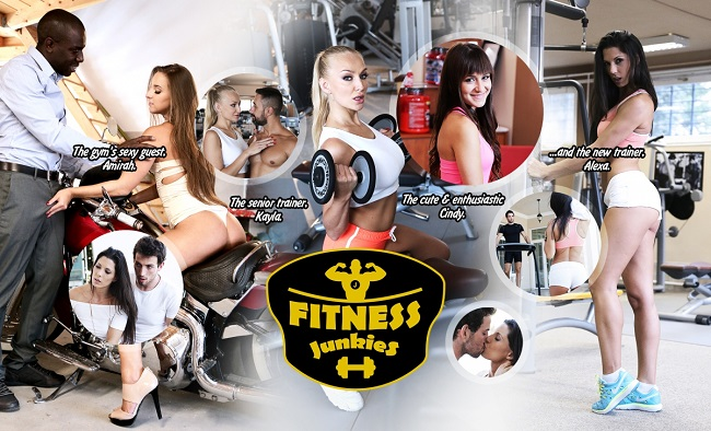 Fitness%20Junkies1 - [21Roles] [lifeSelector] Fitness Junkies (2016)