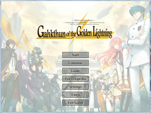 Gahkthun of the Golden Lightning (Liar-soft | Manga Gamer)