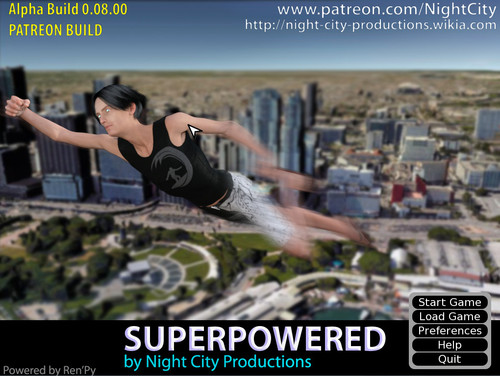 SuperPowered [Ver 0.8] (Night City Productions) - XXX GAME