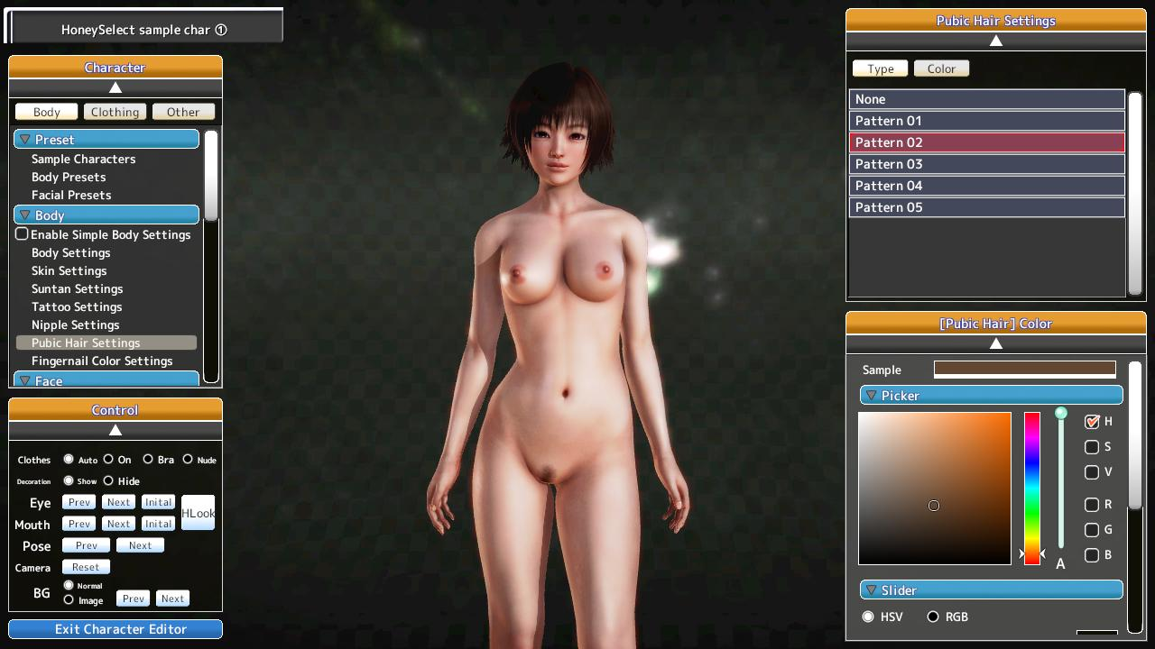Honey♥Select [ILLUSION] [DLC, mods] English Translation - Uncensor patch