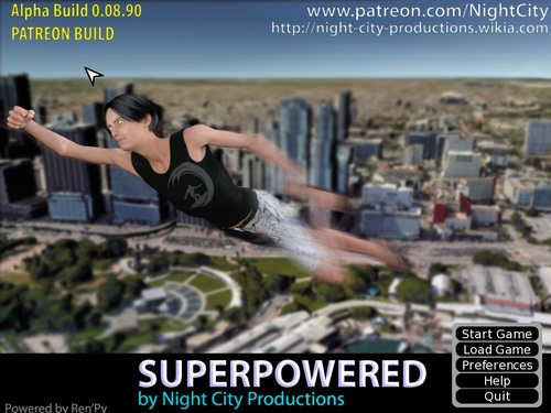 SuperPowered [Ver 0.08.90] (Night City Productions) - (Cheats included)
