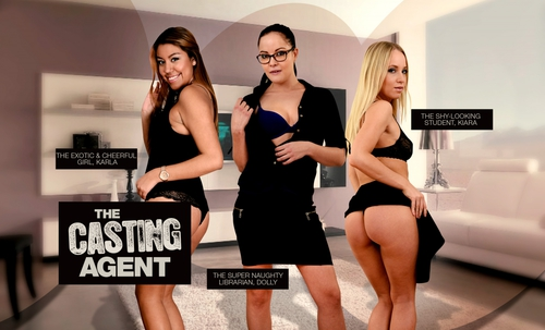 The Casting Agent (lifeselector,SuslikX) 2016