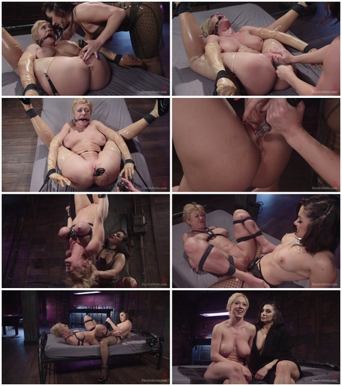 Darling and Lea Lexis (Electro Fuck Doll – Tough blonde babe submits to sadistic godess 04.06.2015)