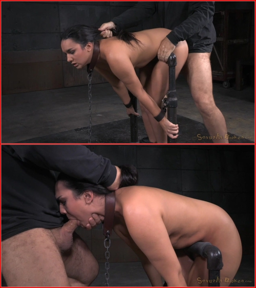 Girl next door Paisley Parker bound in device bondage and roughly fucked, deepthroat on BBC! July 3, 2015 – BDSM, Bondage, Domination, All sex