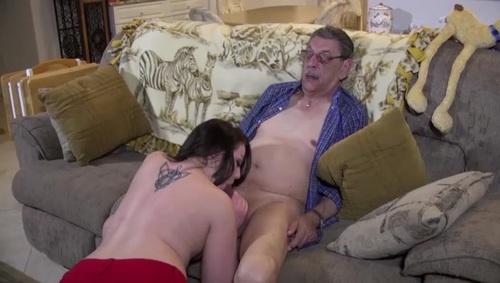 Video grandpas cum in my mouth