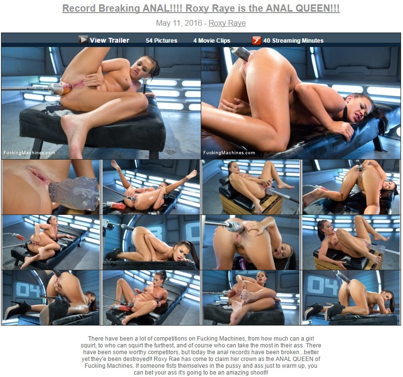 [11.05.2016] Record Breaking ANAL!!!! Roxy Raye is the ANAL QUEEN!!!