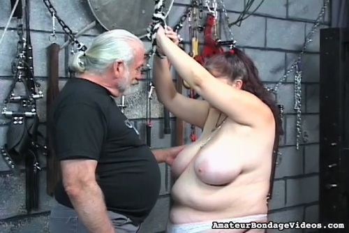Bdsm slave edged and squirting like a fountain must see