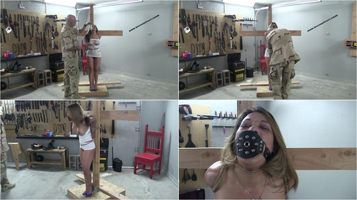 Cry Day For Asiana Part 1 – This Gag Takes Some Getting Use To brunette, fetish, bdsm, bondage, vibrator, ball gag