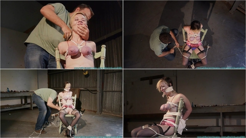 Lexi Kneels and Begs For Tit Torture and Gets It – Part 3