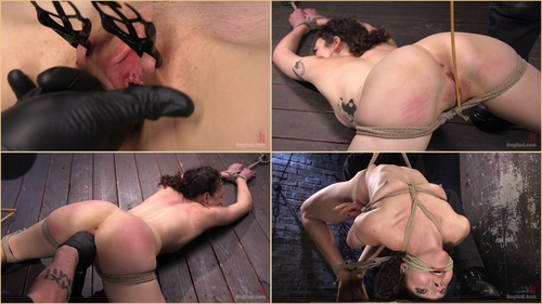 Lilith Luxe (First Timer in Extreme Bondage with Brutal Tormented, and Made to Cum 21.04.2016)