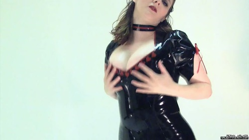 Huge Latex Tits Worship Higher Bitrate