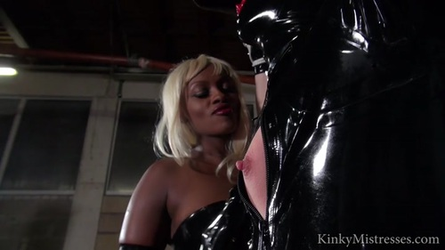 The Milked Rubber Slave