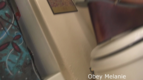 Obey Melanie – Lets begin your toilet training