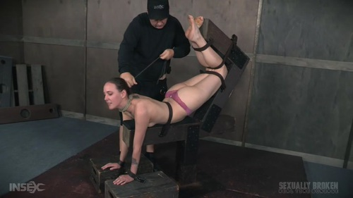 Sierra Cirque Face Fucked In Extreme Bondage! 05.09.2016