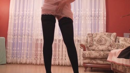 Pantyhose Slip Teasing
