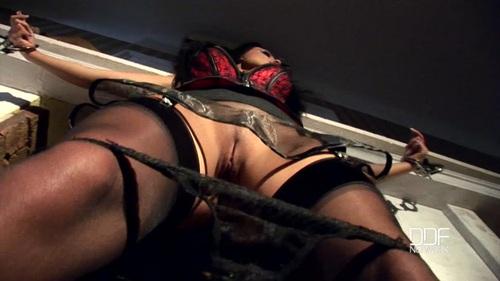 Aletta Ocean – Hot And Handcuffed – Brunette Milf Pees On Hardwood Floor