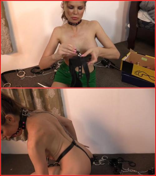 Unexpectedness! bondage humiliation self you tell