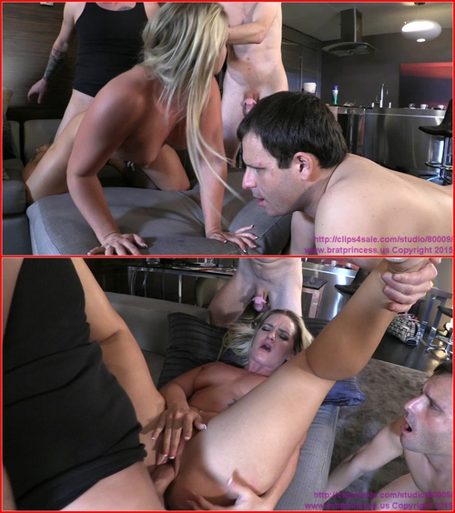 Cali Carter – Fucked By Stud With Two Chastity Cucks Serving