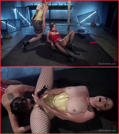 Bella Rossi vs. Iona Grace – Lesbian Pain Slut Sex Slave
