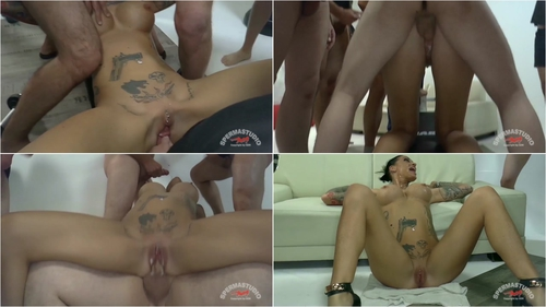 Angel Sky – Bukkake Gangbang Blowjobs