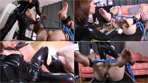 Torturing My Slave's Feet, Asshole, and Mouth!