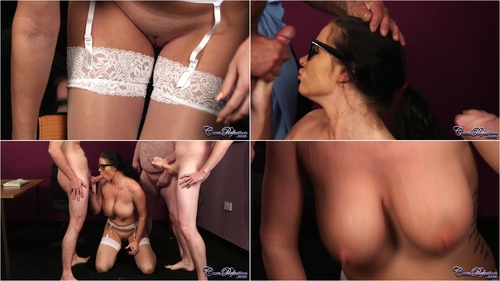 Tasha Holz – Secretary's Bukkake Punishment