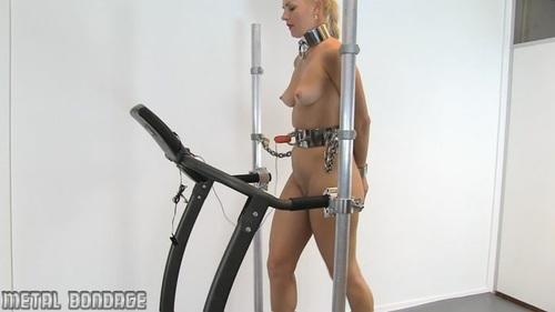 Treadmill erotica Titten