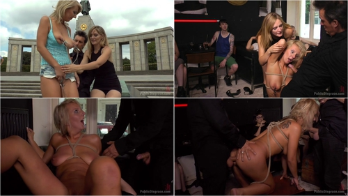 Mona Wales , Conny Dachs and Luci Angel – Horny Blonde Anal Slut Disgraced for Berlin Tourists – 08 Jan 2016