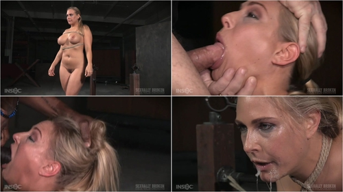 Fast paced Angel Allwood BaRS show with breast bondage, relentless sybian orgasms and BBC January 25, 2016