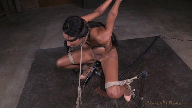 Gag glass playmate strip video
