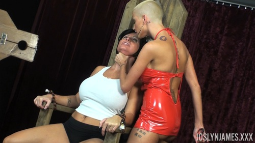 Female bondage harness