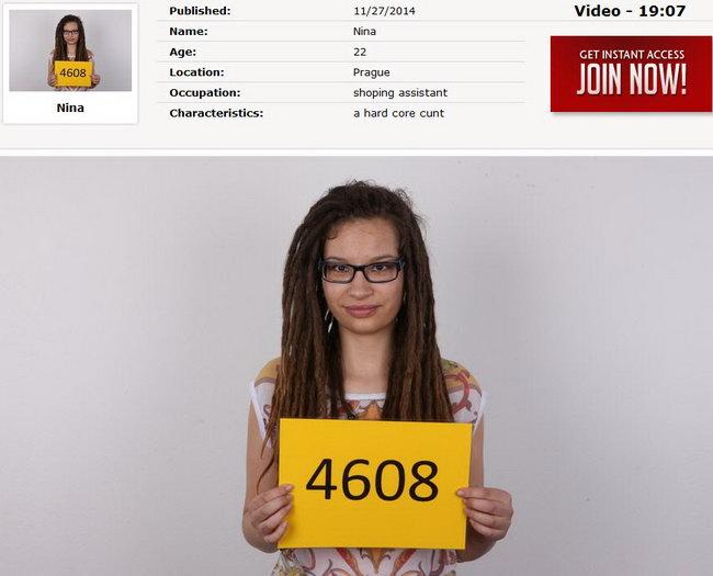 Nina : Czech Casting 4608 [CzechCasting/Czechav] (2014|HD|720p)