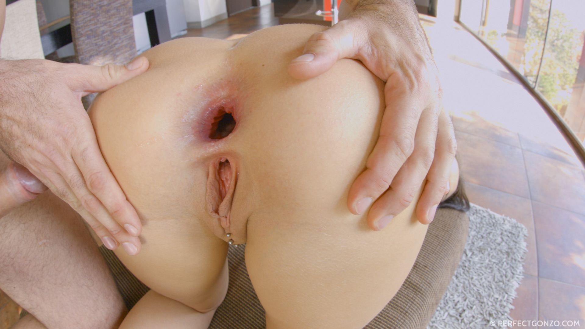 All internal pussy drilling ends in creampie