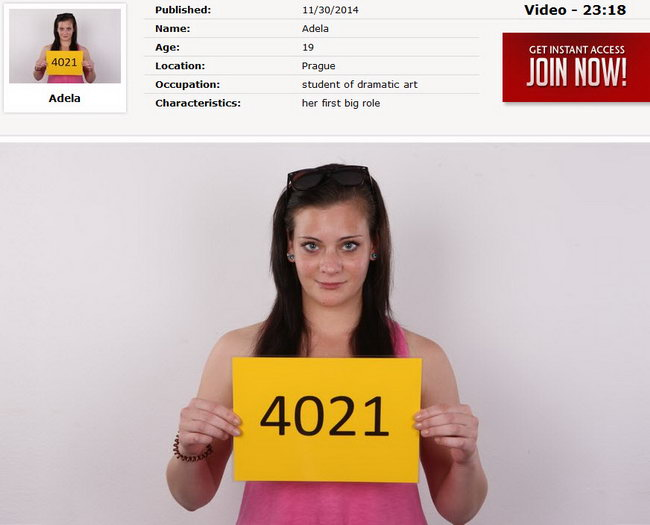 Adela : Czech Casting 4021 [CzechCasting/Czechav] (2014|HD|720p)