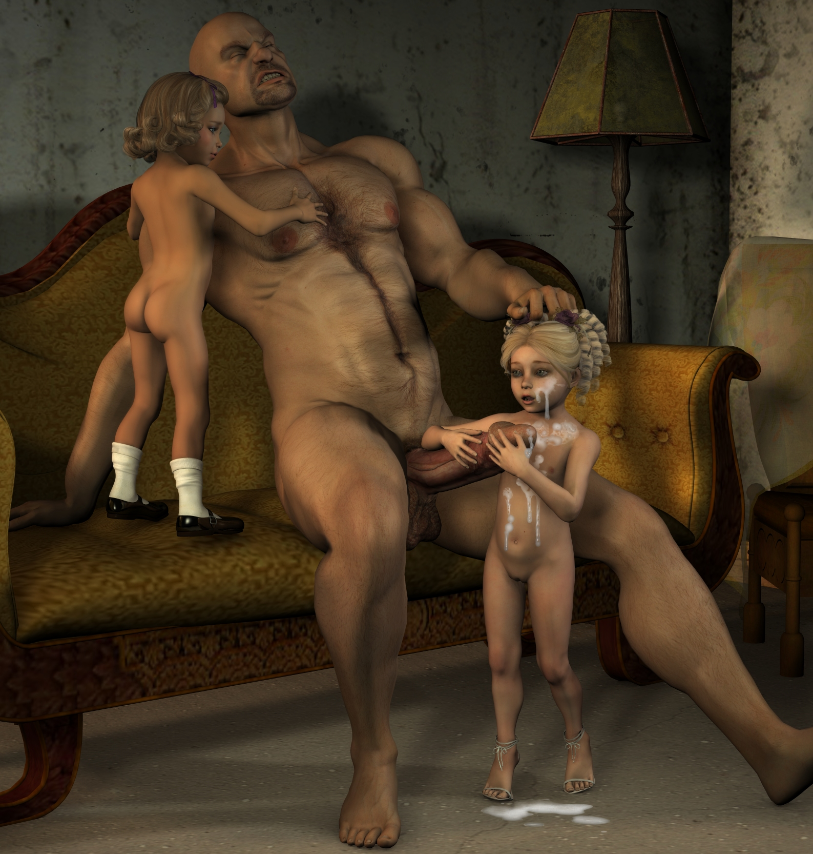 Cumshot 3d incest nackt private girls