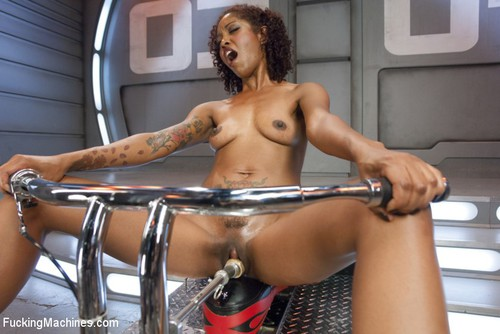 ebony sex machine