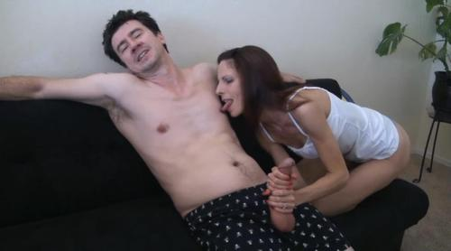 female sucking male nipples