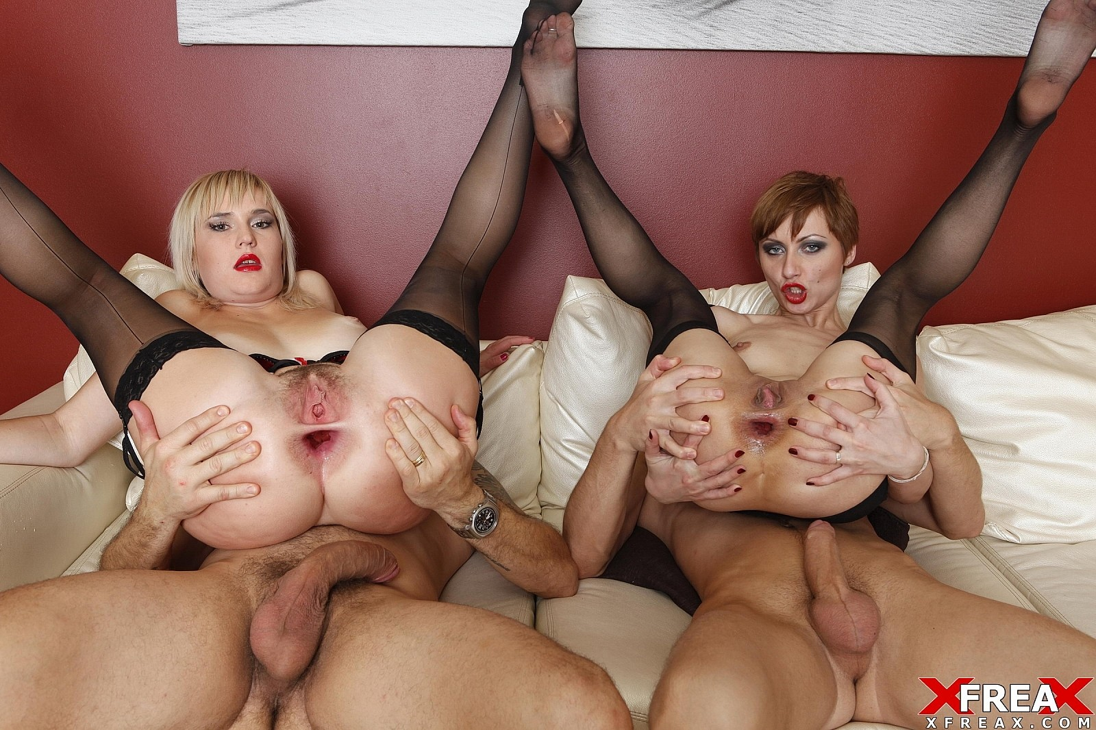 Download [NoRestForTheAss] Dap foursome Great Double Anal