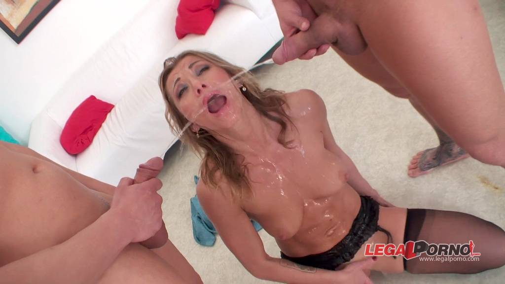 Blonde face got fucked hard 4