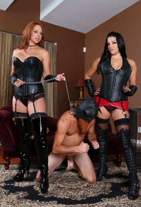 Michelle Lacy & Natalya Strapon Fuck - Femdom