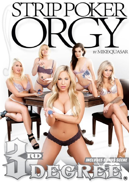 Strip Poker Orgy (2015) - Miley May, Layla Price