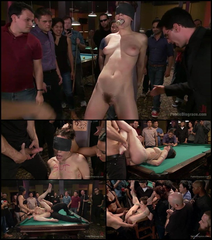 Lily LaBeau Gets Rough Pang