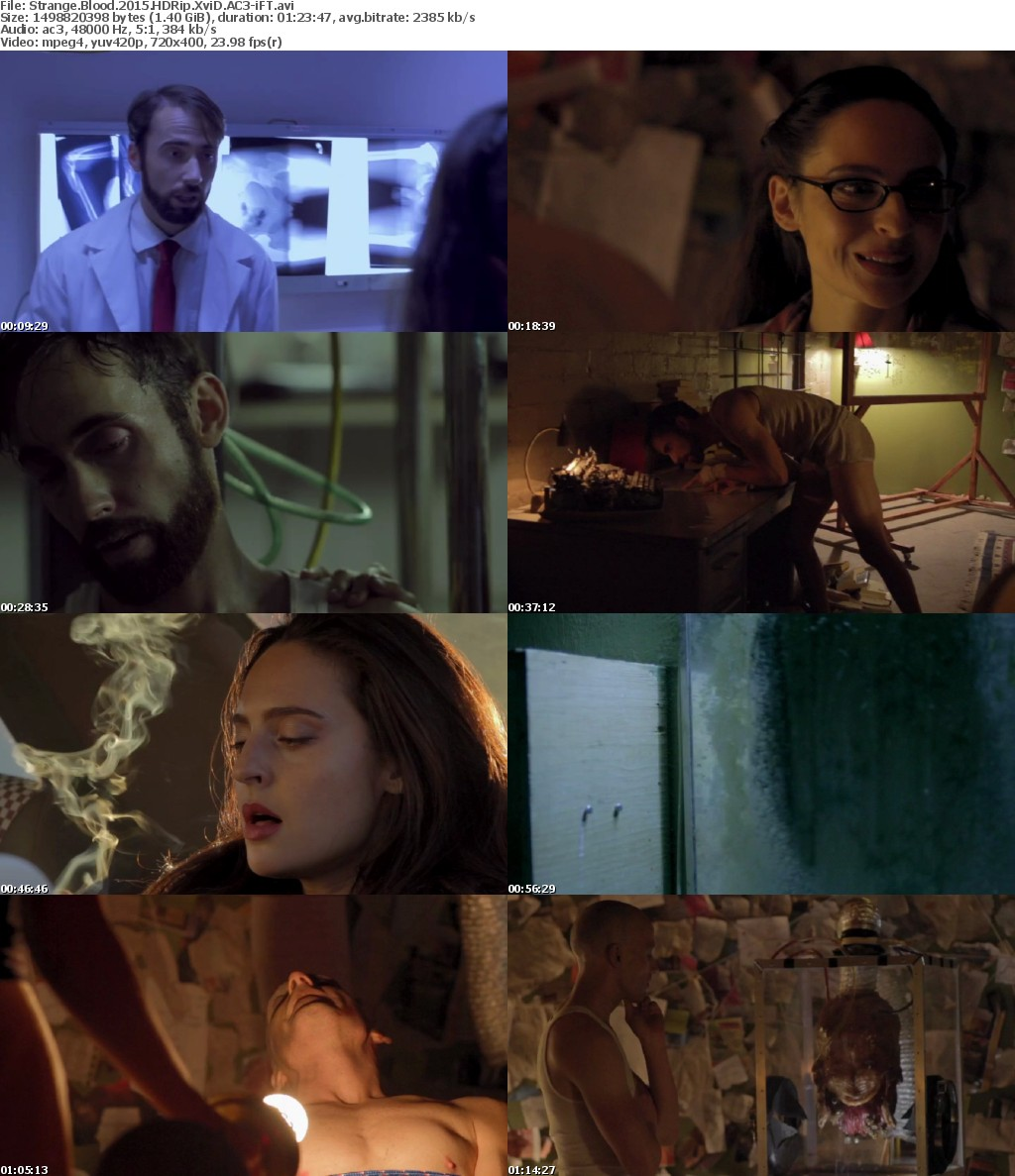 Strange Blood 2015 HDRip XviD AC3-iFT