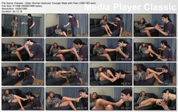 Brat Princess 2: Daniela - Older Woman Seduces Younger Male with Feet (1080 HD)