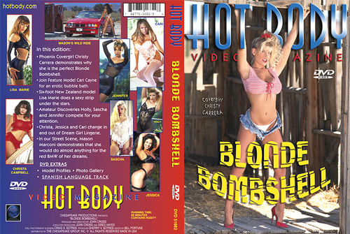 Titles: Hot Body Video Magazine: Blonde Bombshell