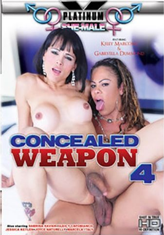 She-male Concealed Weapon 4 (2015)