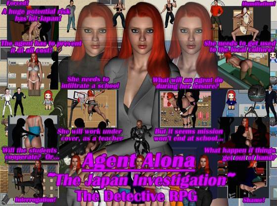 Agent Alona - The Japan Investigation - Update Ver 1.0 COMIC