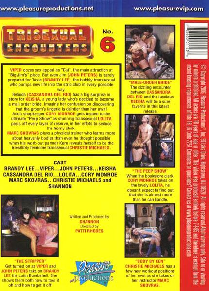 Trisexual Encounters 6 (1991) - TS Cassandra Del Rio