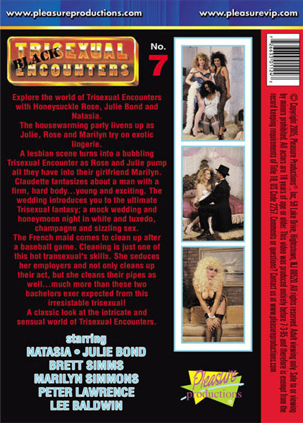 Trisexual Encounters 7 (1991) - TS Julie Bond