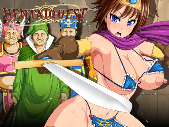 HENTAI QUEST - The Female Hero & Her Good For Nothing Party Comic